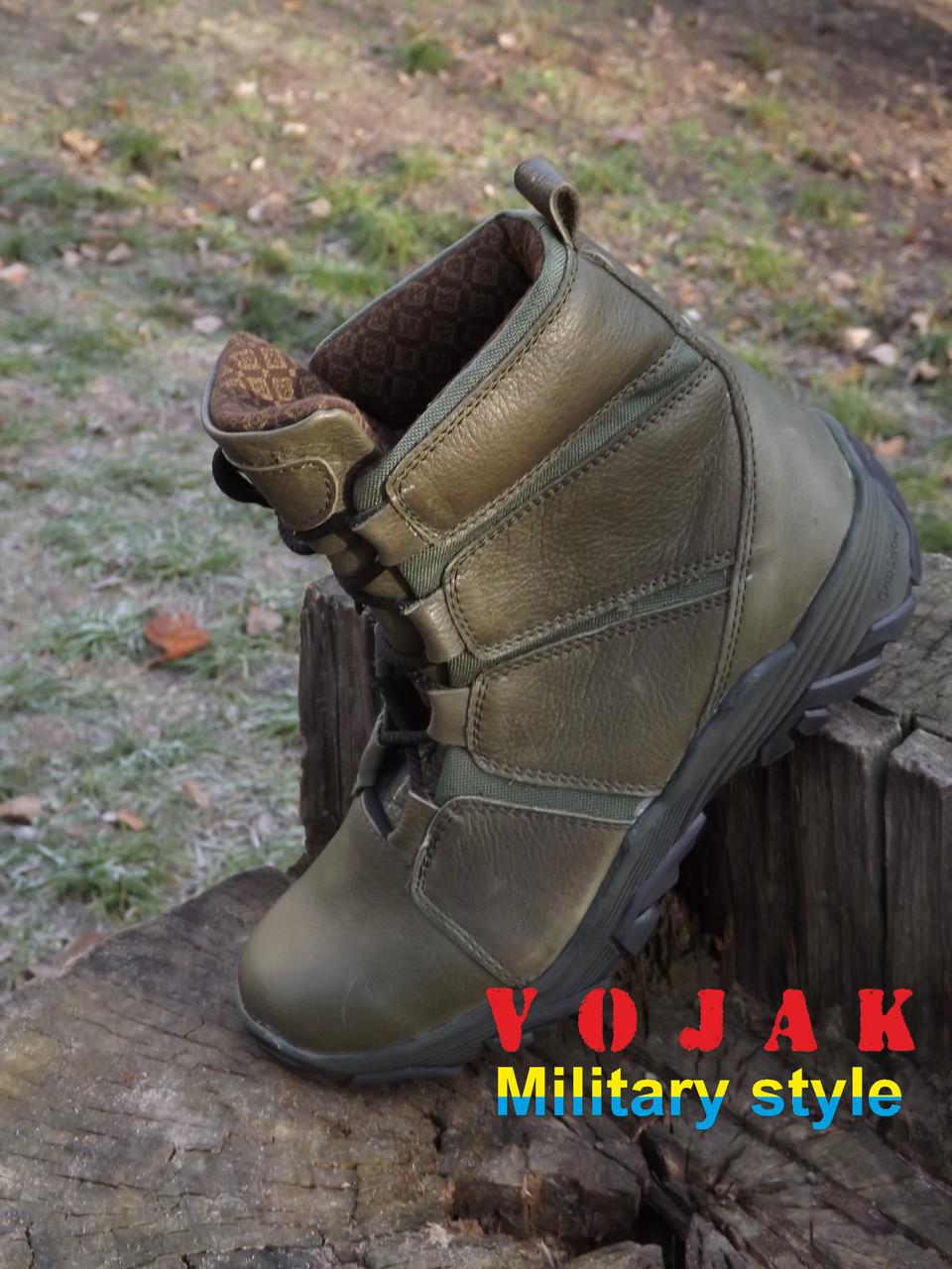 Ботинки тактические с увеличенной берцей КОНДОР (олива, койот, черные)