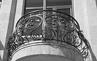 Балконы и ограждения из металла