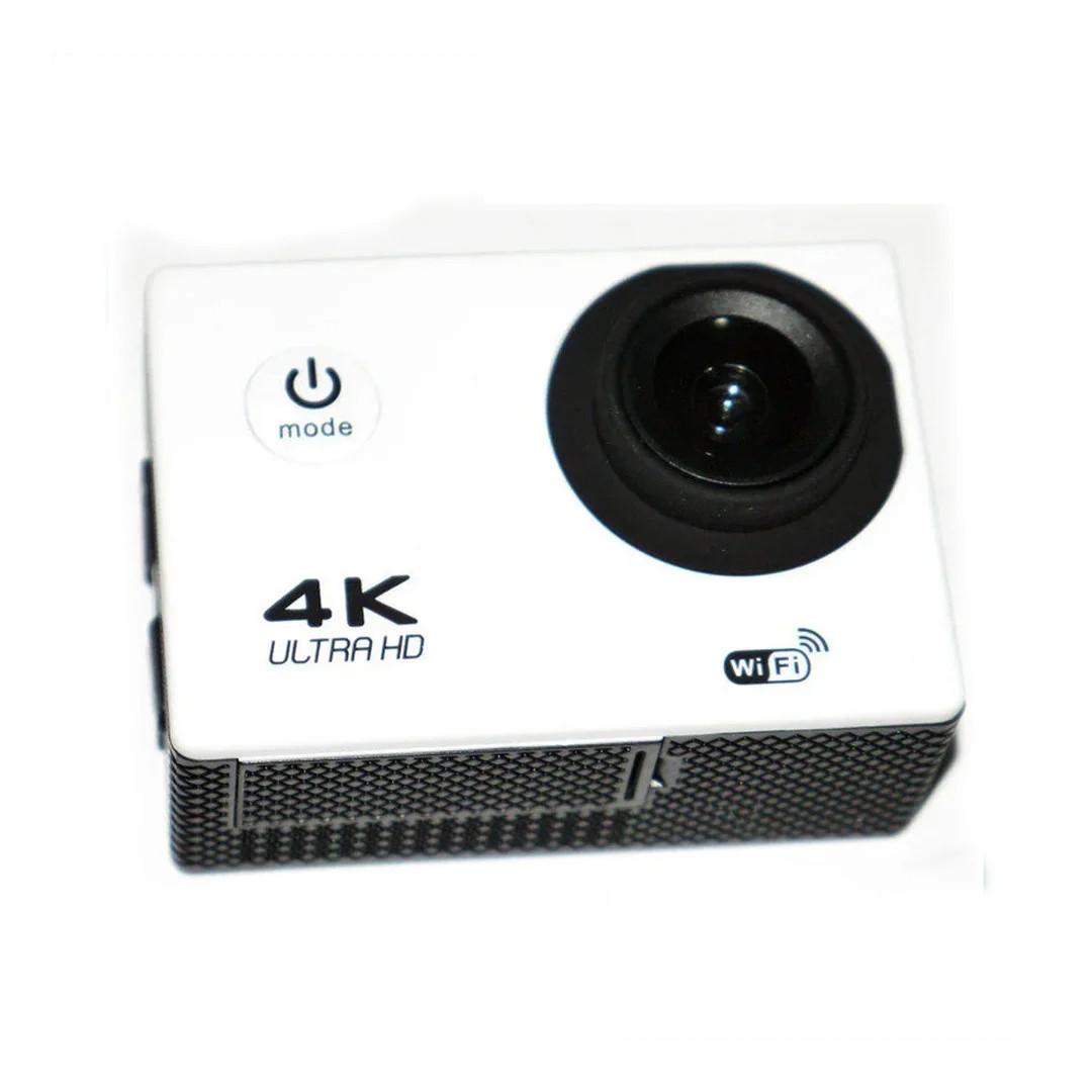 Экшн Камера (Action Camera) белая D800 - WiFi - 4K + ПОДАРОК!