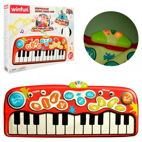 Коврик музыкальный танцевальный детский, пианино