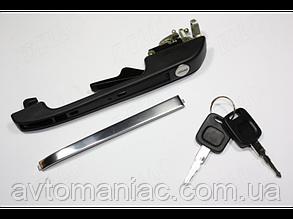 Ручка двери передней левой с ключами Audi 100, 200, 5000