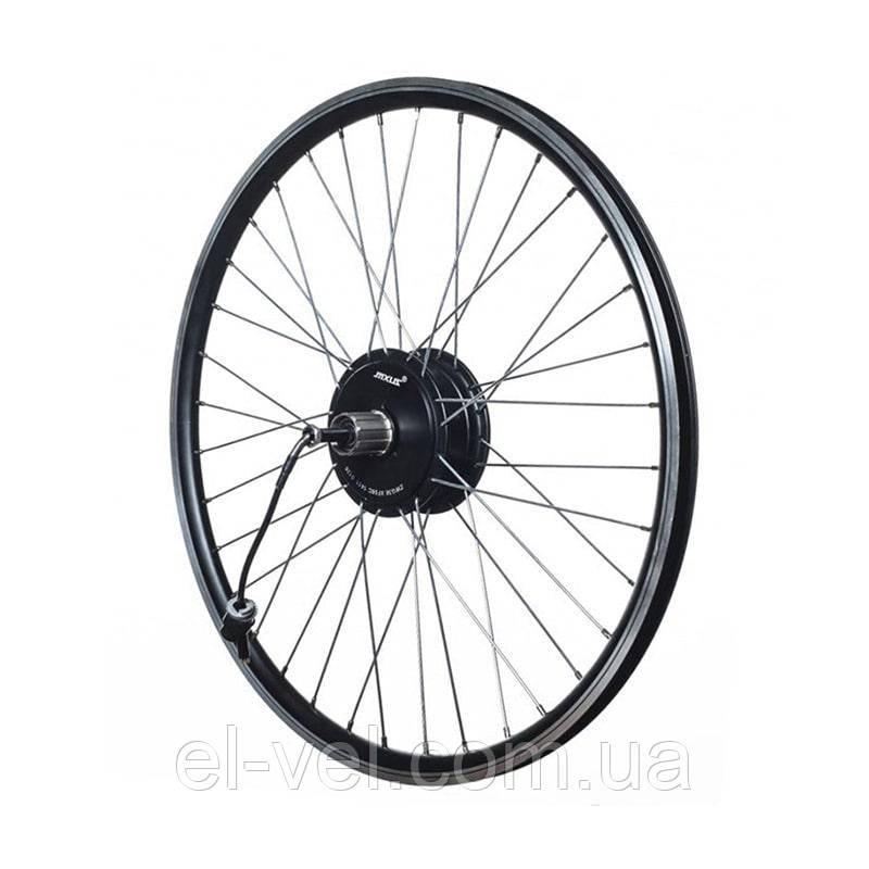 Заспицованное мотор-колесо MXUS ZWG XF08С 36В 350Вт редукторное, заднее
