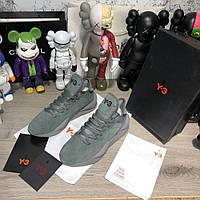 Adidas Y-3 Kaiwa Sneakers Gray Suede