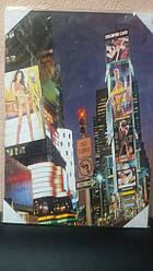 Картина на дереве Нью Йорк