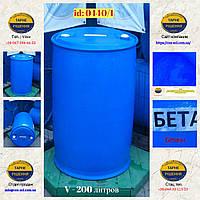 0440/1: Бочка (200 л.) б/у пластиковая ✦ Бетаин