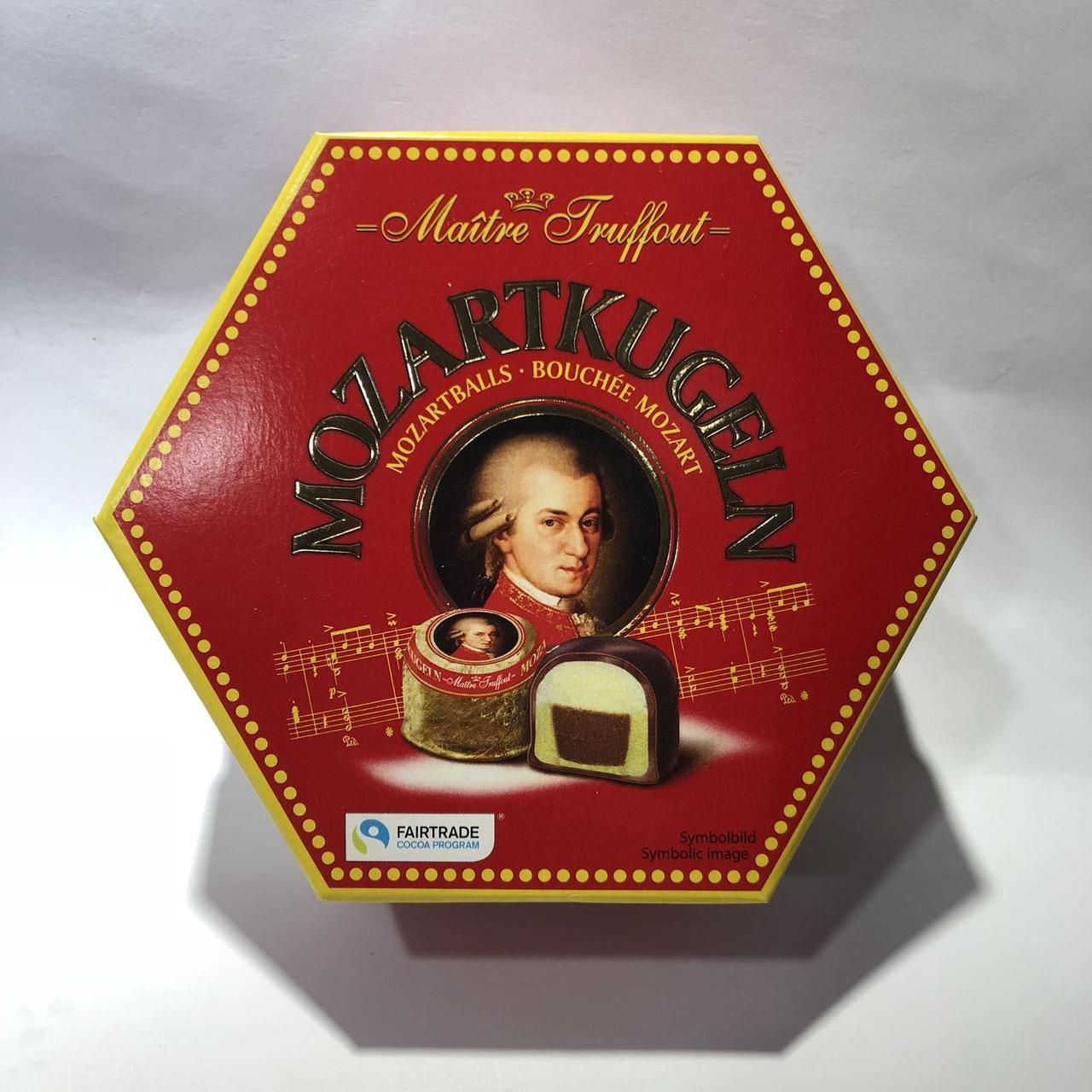 Конфеты шоколадные с марципаном «Mozartkugeln», «Maitre Truffout»,  300 г.