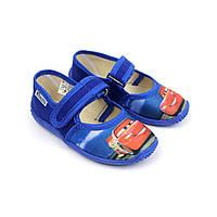 Тапочки в садок на хлопчика тачки взуття Віталія розмір 23,24, фото 1