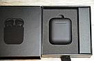 Беспроводные наушники AirPods 2 Black Matte (Люкс копия), фото 5