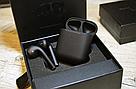 Беспроводные наушники AirPods 2 Black Matte (Люкс копия), фото 6