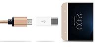 Перехідник для зарядки телефону Micro USB - > USB 3.1 Type-C USB Адаптер, фото 1