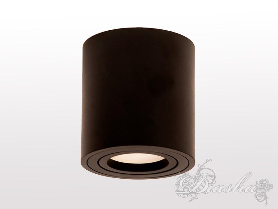 Накладной точечный светильник 106B-4-R-BK