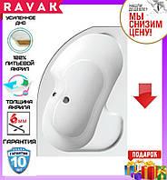 Акриловая ванна 160x105 см Ravak Rosa I CL01000000 правосторонняя, фото 1
