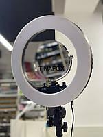 Лампа напольная кольцевая (d-33см )с штатив-треногой для съемки с зеркалом