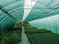 Затеняющая сетка 60% 4м х 10м, зелёная, ZSK