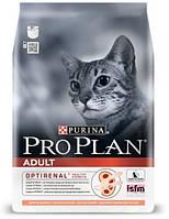 Сухой корм для котов Pro Plan (Про План) Adult Salmon с лососем, 1,5 кг