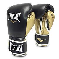 Оригинальные перчатки боксёрские тренировочные Everlast Powerlock Training Gloves.