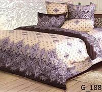Красивое постельное бельё из Пакистанской бязи (1,5сп)