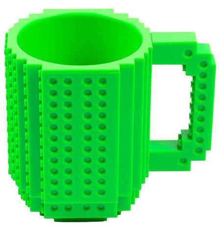 Чашка Конструктор NZY 350 мл Зеленый (127666), фото 2