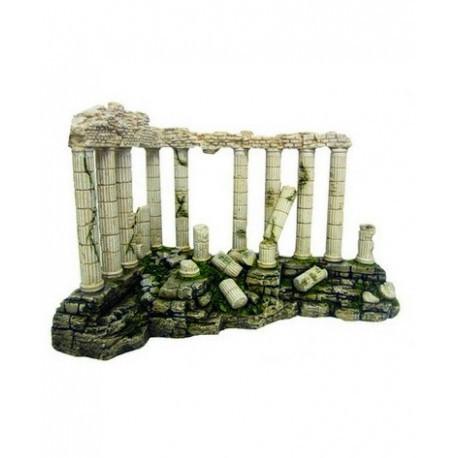 Декорация керамическая Греческая угловая колоннада, 41x26x27,5 см