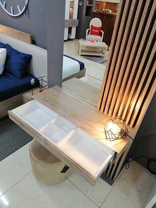 Дамский стол с зеркалом  Sherwood Endgrain, фото 2