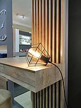Дамский стол с зеркалом  Sherwood Endgrain, фото 3