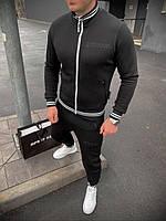 Спортивный костюм Doberman D9138 черный теплый