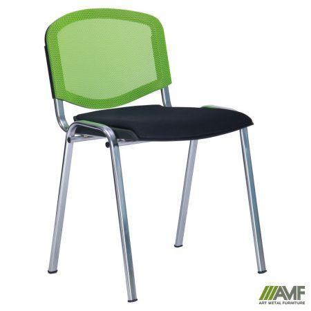 Офисный стул Призма Веб с сеткой/хром AMF