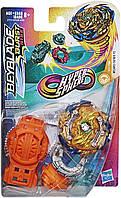 Бейблейд Фафнир Ф5  оригинал Хасбро,  Beyblade Burst Rise Hypersphere Wizard Fafnir F5 Hasbro