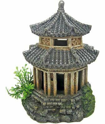 Декорация керамическая Японские храм, 14x14x18 см