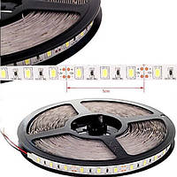 Светодиодная лента smd 2835 ip67 120 диодов/метр теплый белый (3200К) premium класса, фото 1