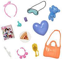Набор аксессуаров для куклы Barbie Пижамная вечеринка FLP80, фото 2