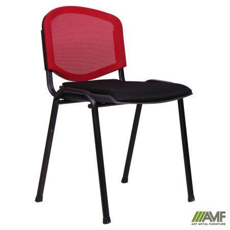 Офісний стілець Призма з Веб сіткою/чорний каркас AMF