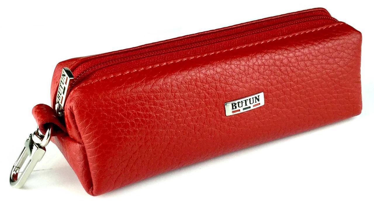Ключница женская кожаная красная Butun 784-004-006