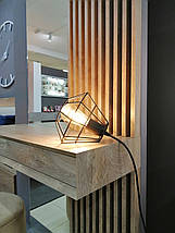 Дамский стол с зеркалом и декоративными панелями  Sherwood Endgrain, фото 3