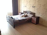 Двухспальня кровать из массива Дуба
