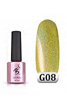 Гель-лак голография TK Vip-product G-08 (Golografik), 8 мл