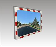 Зеркало безопасности дорожное Ultra Glass DZB-80х60 прямоугольное 800х 600мм