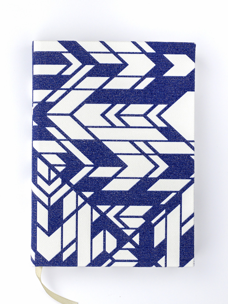 """Эко Ежедневник-мотиватор недатированный А5 """"Геометрия"""", текстурная дизайнерская бумага, 368 стр."""