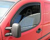 Дефлектори вікон вставні Fiat Doblo 2000-2010 2D, 2шт, фото 2