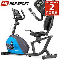 Горизонтальный велотренажер HS-035L Solo Blue до 135 кг