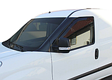 Дефлектори вікон вставні Fiat Doblo / Opel Combo 2010 -> 2D, 2шт, фото 2