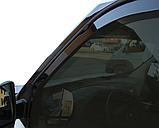 Дефлектори вікон вставні Fiat Doblo / Opel Combo 2010 -> 2D, 2шт, фото 4