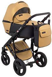 Детская коляска универсальная 2 в 1 Bair Mirello Plus  кожа 100% MP-38 (Беир Мирелло Плюс)