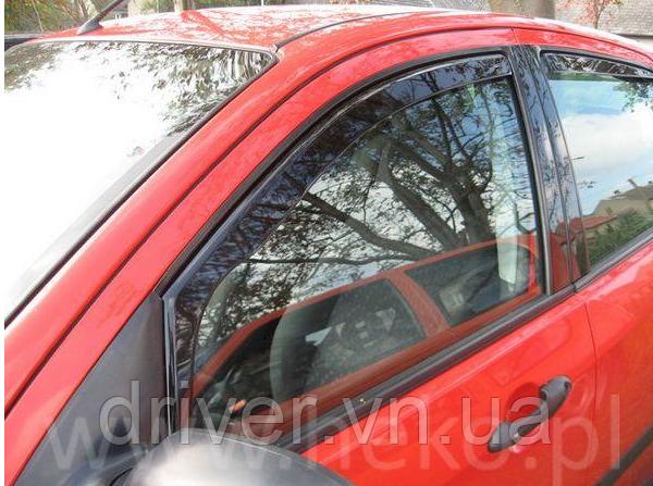 Дефлектори вікон вставні Fiat Marea 4D 1996->, 4шт