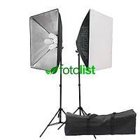 Набор постоянного света Visico FL-306 (50x70см) Double Kit, 8х45w, 1800 Вт, 5500К