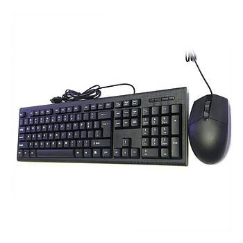 Набор клавиатура мышь CMK 858 ( До 55 миллионов нажатий/ соф-тач пластик)