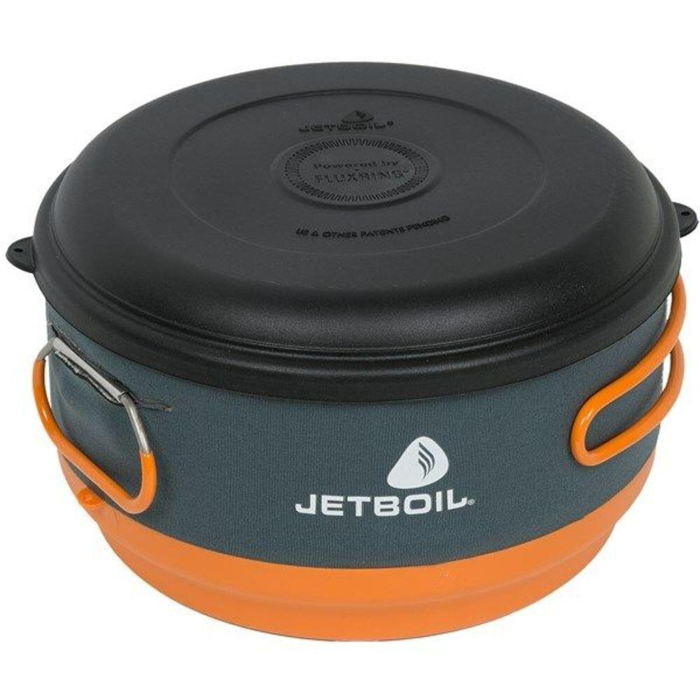 Каструля Jetboil - FluxRing Helios II Cooking Pot Black, 3 л (JB CCP300)