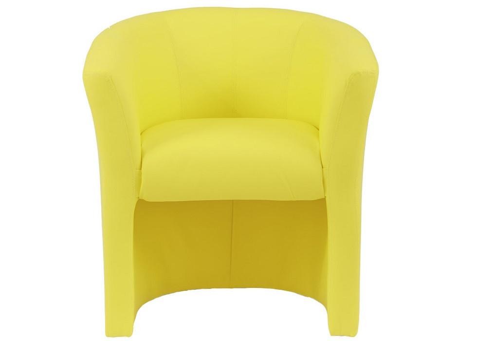 Кресло Бум лимонное желтое Rich