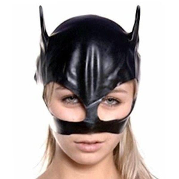 Блестящая маска кошки