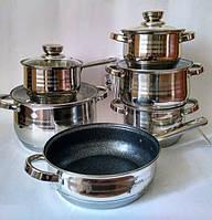 Набор посуды Bohmann BH 1234 MRB